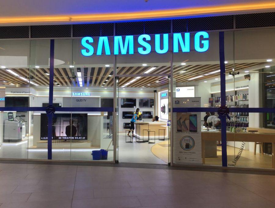 2 river mall Samsung 2