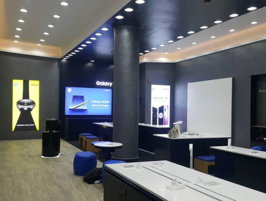 Creo Shop Interior Samsung